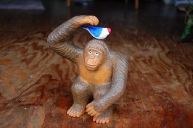 以前に貰ったチンパンジー?