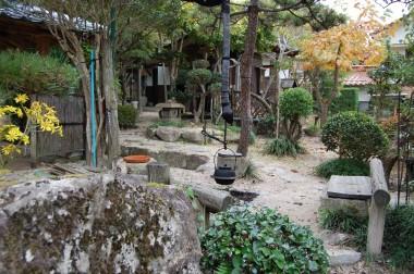 十数年かけて作られた庭