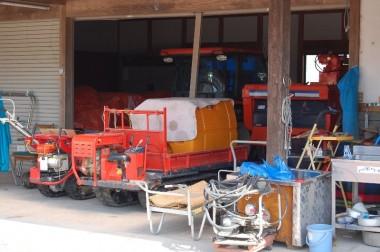 各種の農業機械