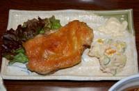 鶏の皮がパリパリでとても美味しかった