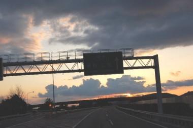 17:36 倉敷JC (山陽道と瀬戸中央道別れ)