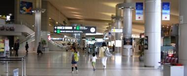 久々に行った広島空港二階ロビー