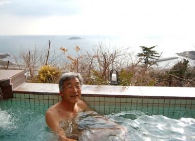 秋穂温泉からは瀬戸内海が良く見える