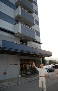 湯田温泉で宿泊した喜楽久ホテル