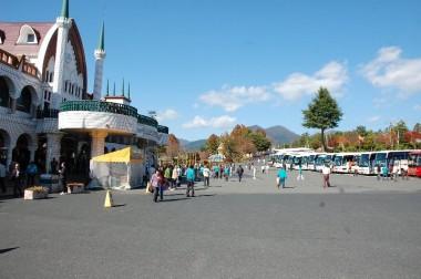 蒜山高原の大きなレストラン兼お土産センター