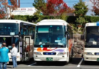 今回乗った恐怖のバス
