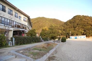 海辺の国民宿舎で泊まる