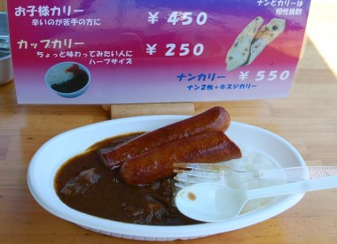 TAM特製カレー(ご飯はよしろう農園の自然農法米)