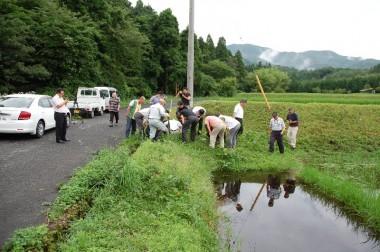 山の向こうは島根県