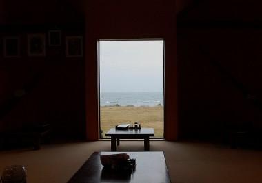 仮眠の後朝食に行った部屋