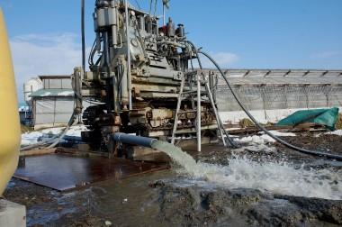 井戸ボーリング 掘削完了