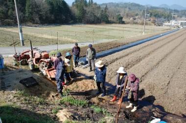 草の生え方による」土の特性を観る