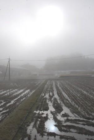 写している間にも霧の様子がどんどん変わっていった