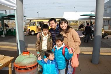 UMKSさん家族は愛媛県から2時間かけて来てくださいました