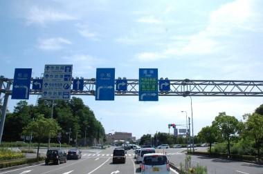 四国の今治を通過して松山へ