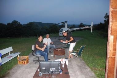 広島ヘリコプタークラブ発足して初会合で焼肉会