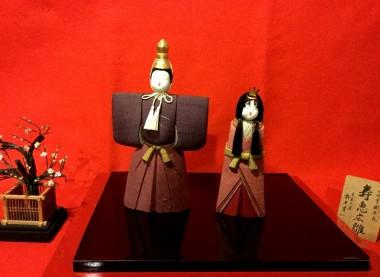 バーちゃんがハナエに買ってくれた木目込み人形