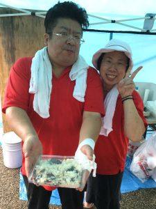 和食の料理人 和祝たけみつ さんからいただいたキクラゲご飯、いくらでも食べれそうな美味しさだった