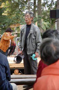 副代表の松さんが終わりの挨拶
