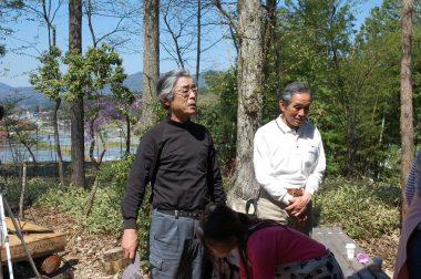 進行は吉さん、最後は松さんの挨拶でキッチリと
