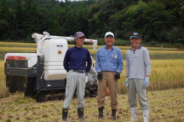 稲刈 田植 里山整備 草刈など、いつもの3人