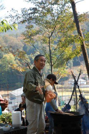 吉原さんの進行で収穫祭の始まり