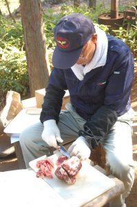 ジビエ料理はイノシシ、鹿の焼肉