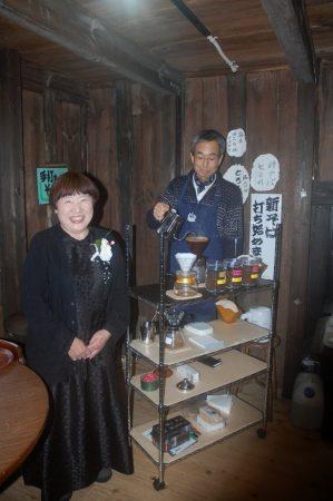 YASUさん誕生とHIROさんのカフェオープンを祝って