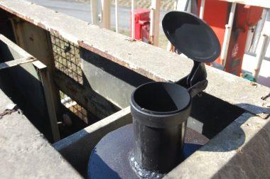 排気管にはステンレスを使って耐熱塗装仕上げ