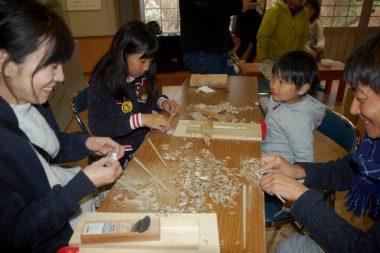 箸の手作りコーナー