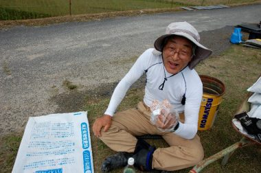 あげアンパン ガバッと食ってシアワセェ~!