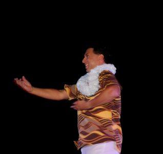 ハワイからもフラの先生が参加