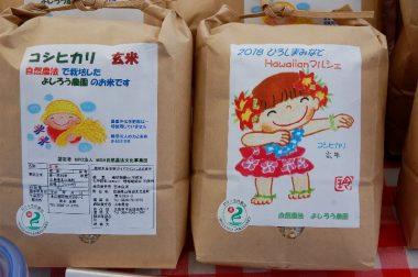 メイン商品の米