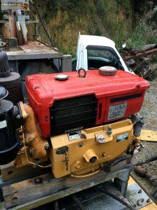 古い燃料やエンジンオイルの交換 フィルター清掃完了