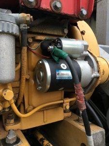 スターターモーターをリビルト品に交換