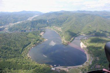 土師ダムをこの角度から見るのは初めて
