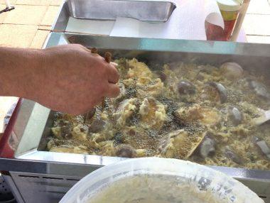 安芸農園さんのシイタケと鶏のから揚げがうまい!