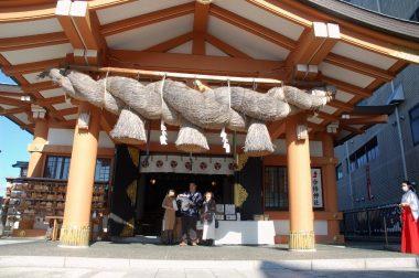 広島市の住吉神社へ